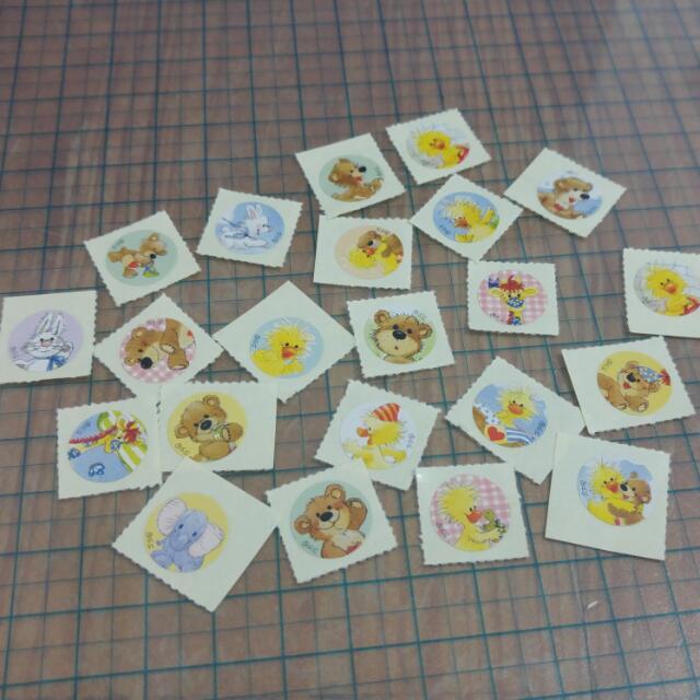 Suzy's Zoo 梨花熊貼紙