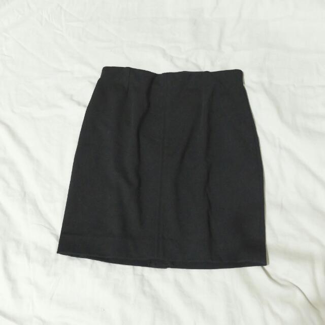 ⚡uniqlo黑色窄裙