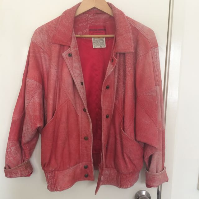Vintage Leather Jacket