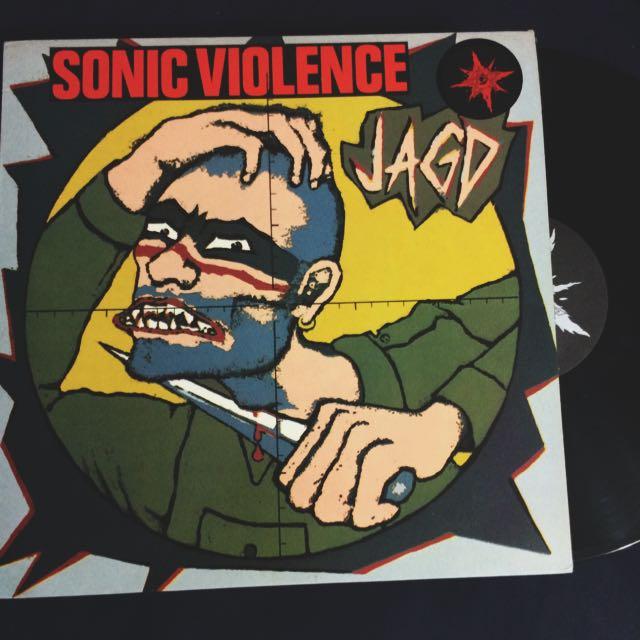 VINYL - Sonic Violence JAGD (1990)