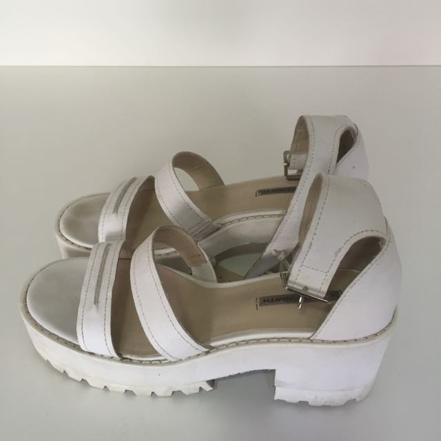 Windsor Smith Chunk leather sandals