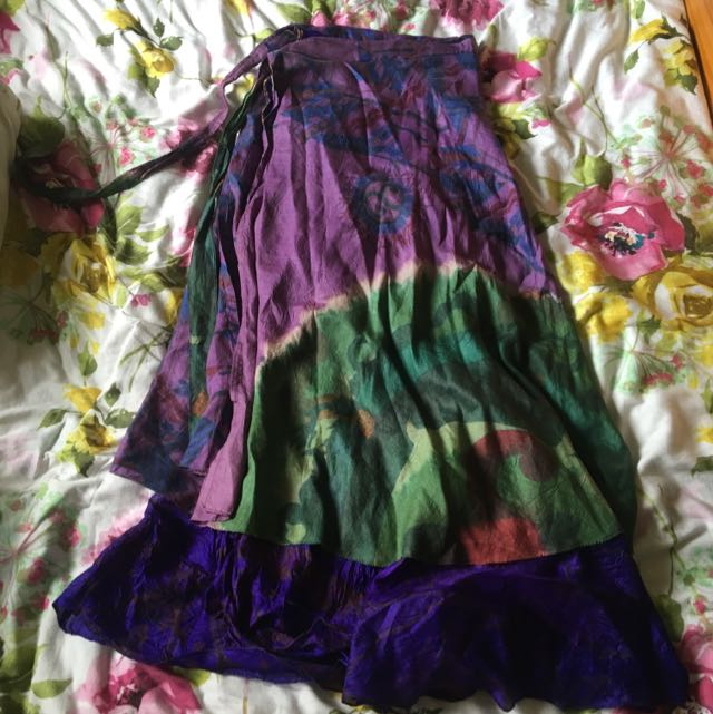 Wrap Hippy Skirt