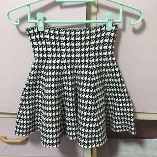 千鳥格短裙(喜歡直接出價 出價合理就賣)