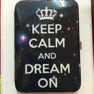 Keep Calm And Dream On Wallet