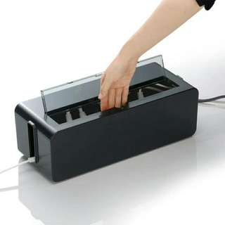 Power Extension/Cable Box   Hide All Your Unsightly Power Plugs And Cables!   Last Piece, Selling Cheap  Dimension Is 39CM(W) 15.9CM(H) 12.9CM(D)