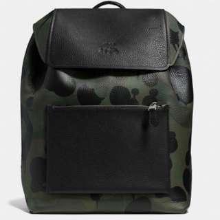 🚚 【現貨】COACH 全新迷彩雙肩後背包款