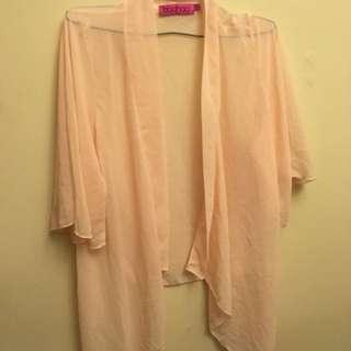 Boohoo Sheer Kimono