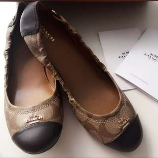 Brand New Coach Flats Size: US 9