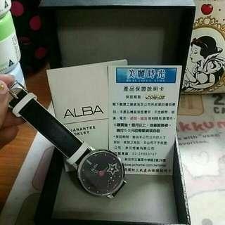 【SEIKO 精工 ALBA】-星空系列女錶⌚(AG8377X1)