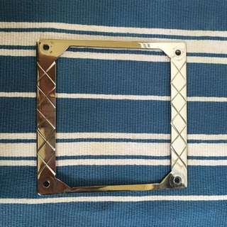 Vespa Stainless Steel Number Plate Frame