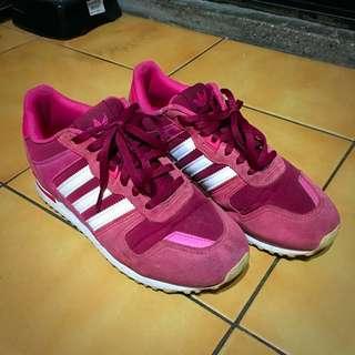 Adidas ZX 紅色 跑鞋 休閒鞋