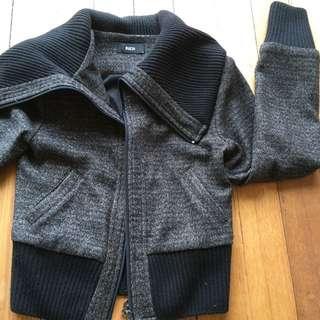 Label: Rich / Winter Wool Jacket