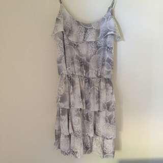 Miss shop collection Silk Dress Sz 8