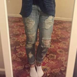 Cotton On Boyfriend Jeans Size 8