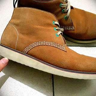 (降價)類 Timberland 黃靴 中高統