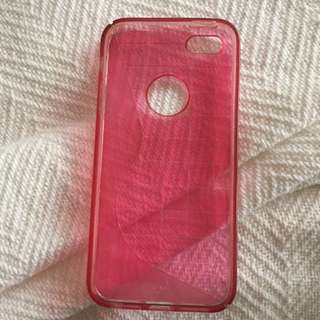 Pink iPhone 5 Plastic Cover