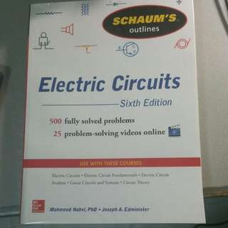 Schaum's Outlines, Electric Circuits Sixth Edition