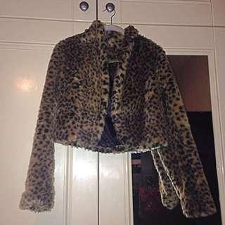 Reverse Leopard Jacket