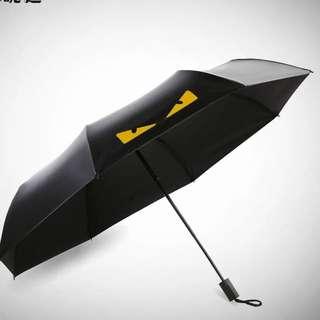 韓國創意三色 晴雨兩用折疊傘