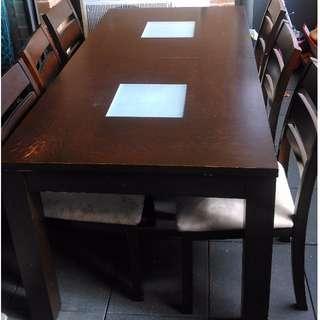 7 piece dinning table