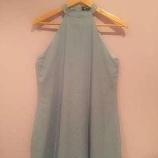 misguided tiffany blue dress