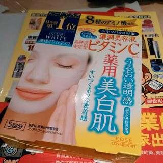 Kose 藥用美白肌面膜
