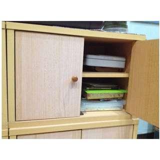 樸實收納櫃 (共有四個, 可分售。合購另優惠)