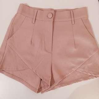 Peach Cross Shorts