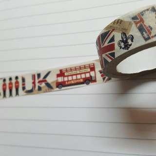 紙膠帶分售*倫敦風格