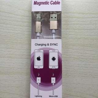 【免運】iPhone 磁吸充電線
