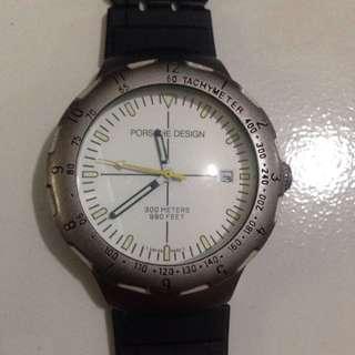 Friendly Porsche Design 6620 Uhren Box Watch Box Case Rar Vintage Be Friendly In Use Jewelry & Watches