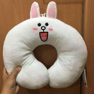 降價!韓國帶回 Line兔兔的頸枕