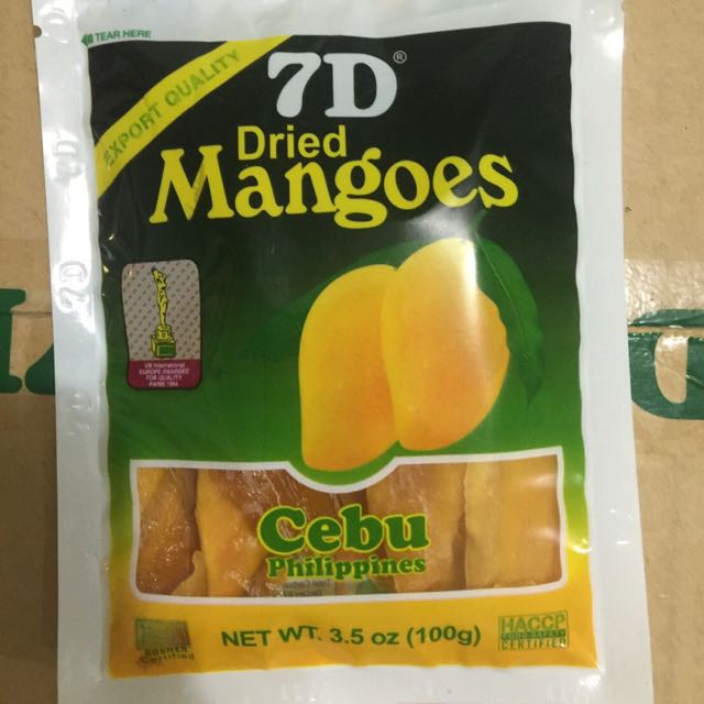 菲律賓超夯7D芒果乾