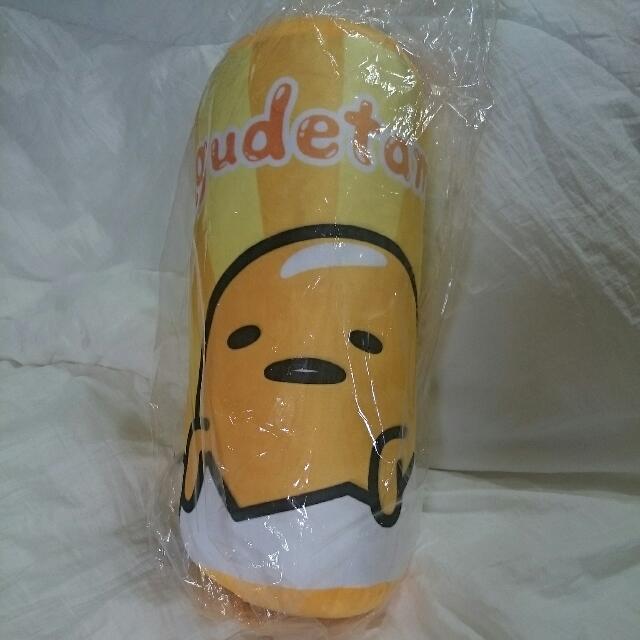 蛋黃哥圓筒枕~蛋殼款