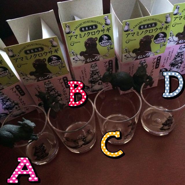 日本 奄美大島 兔子 大島兔 杯緣 動物 杯緣 盒抽 杯緣子