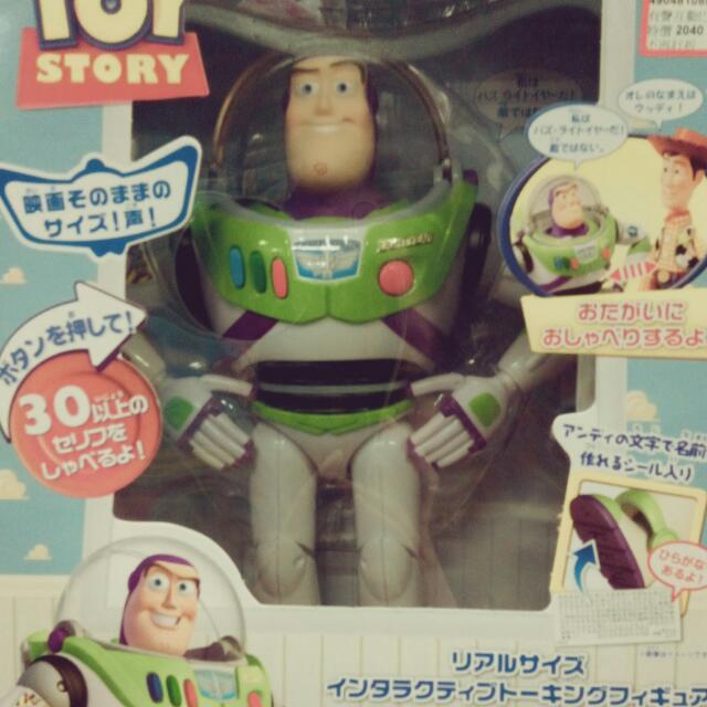 玩具總動員 日版 模型玩具 (Big)  (是說日文哦)
