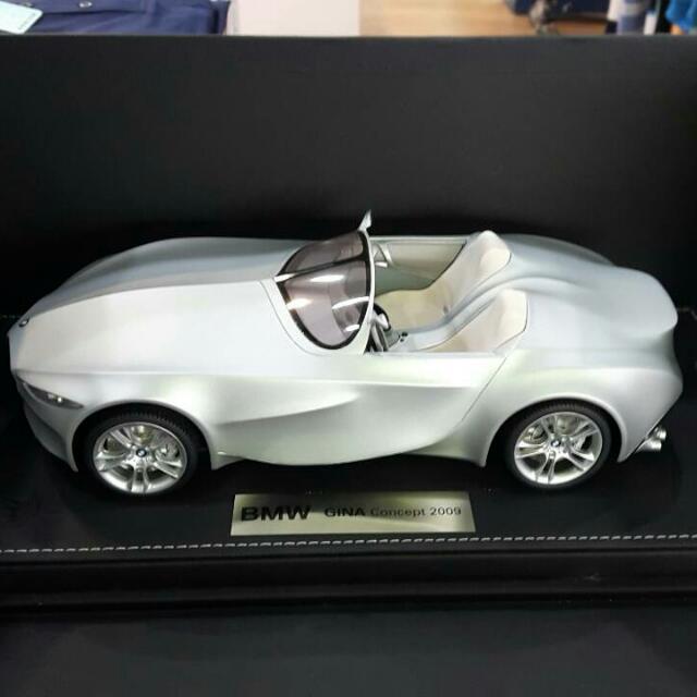 bmw gina concept 2009全新樹酯概念模型車 全球限量400台