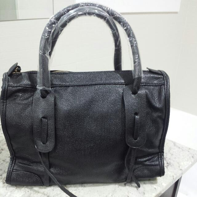 Brand new With Tags pu Leather Hand Bag