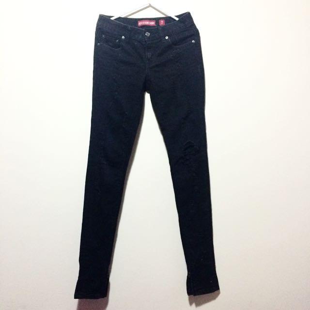 Levis Extreme Skinny Black Jeans
