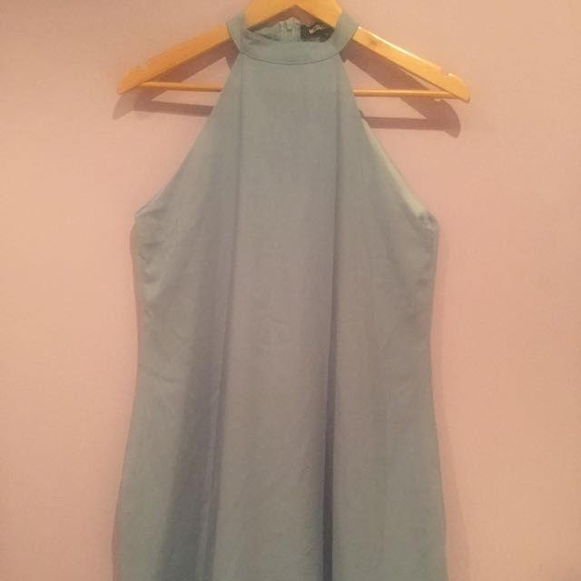 misguided tiffany blue dress
