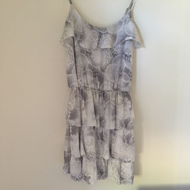 Miss shop collection Silk Dress Sz 8