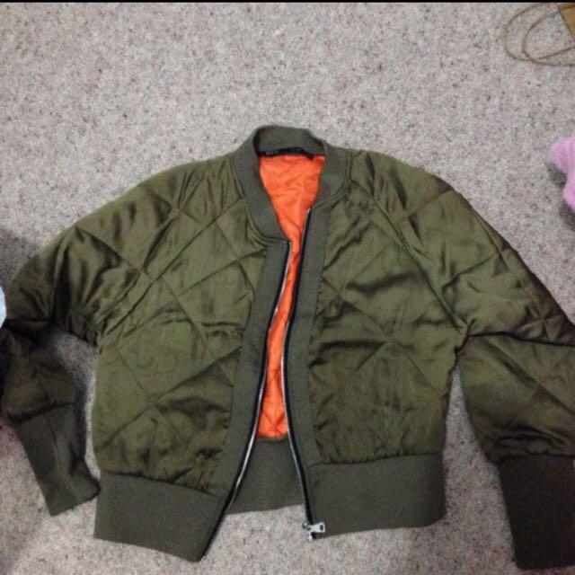 Puffy Autumn Jacket