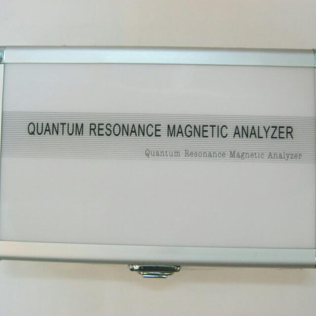 Quantum Resonance Magnetik Desain Silver Ukuran Mini