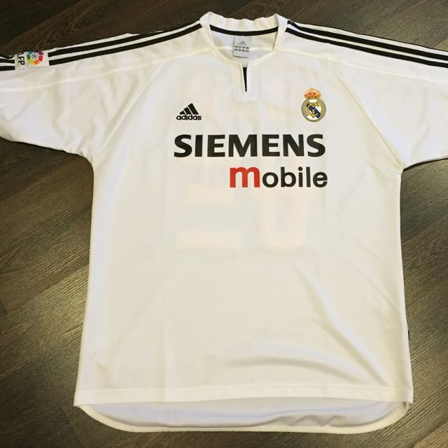 buy popular 01578 b963a Real Madrid Vintage Jersey David Beckham