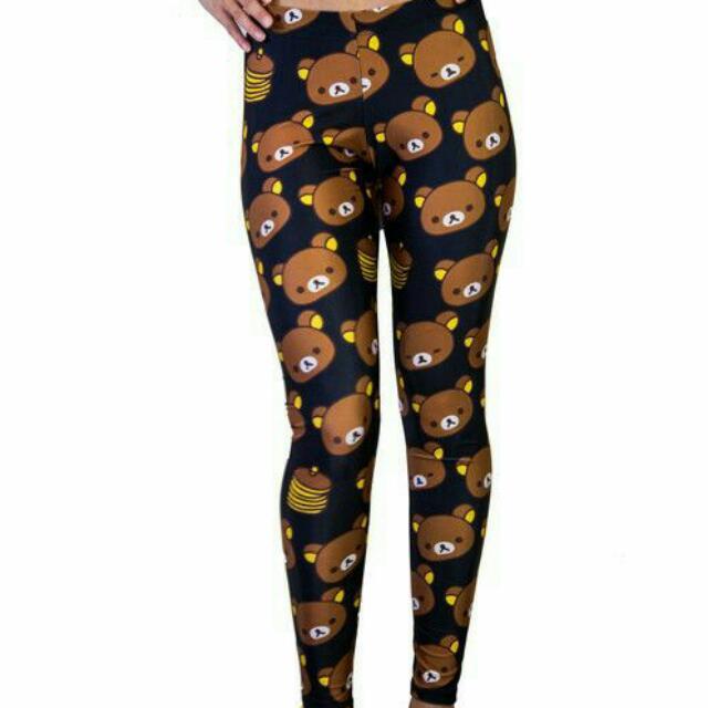 Rilakkuma Pancake Leggings XL