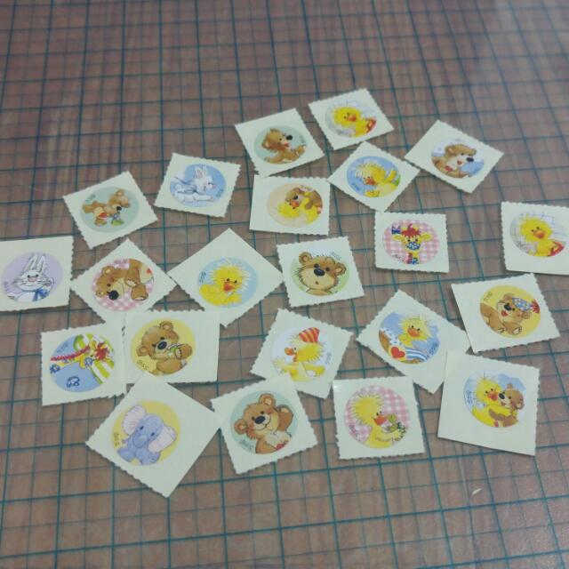 Suzy's Zoo梨花熊貼紙