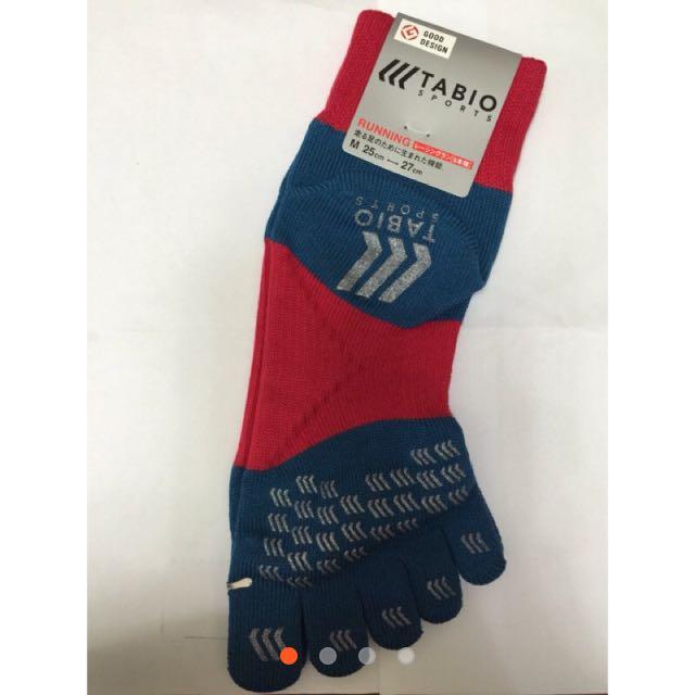 日本購入TABIO五指襪 跑步運動襪