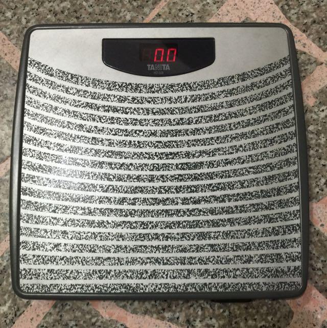 TANITA 電子體重計