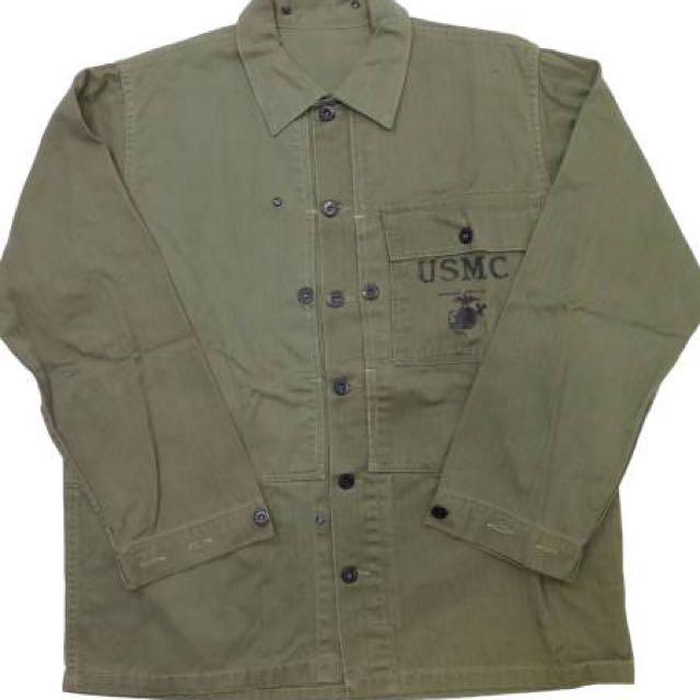 USMC 美軍 海軍 襯衫外套 ARMY