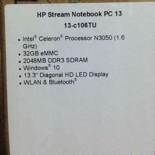 HP Stream Notebook (repriced)